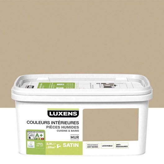 Peinture Cuisine Et Bains Luxens Couleurs Interieures Brun Chocolat N 5 2 5 L Couleur Interieure Parement Mural Peinture Violet