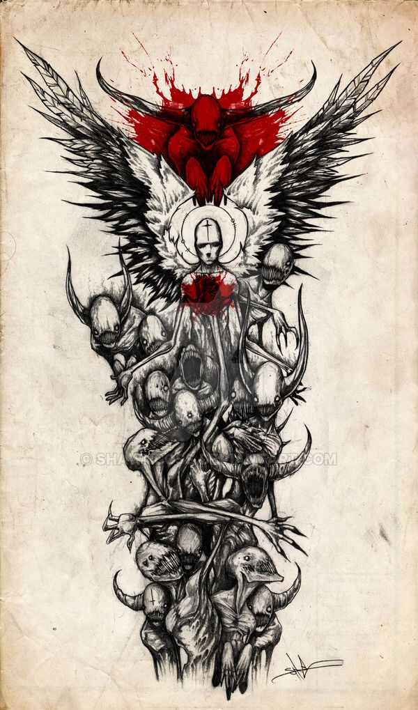 Down With My Demons Tattoo: Demon Sleeve By ShawnCoss On @DeviantArt