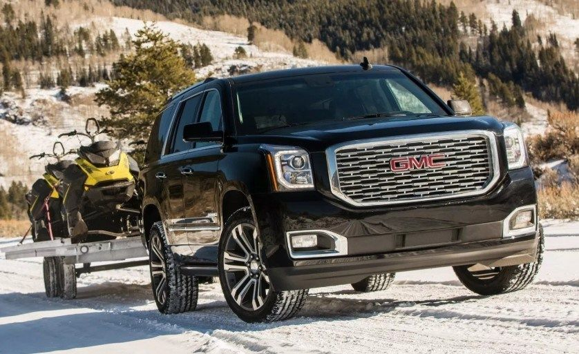 The Next Generation Of Gmc Yukon Is Gradually Coming Closer To The