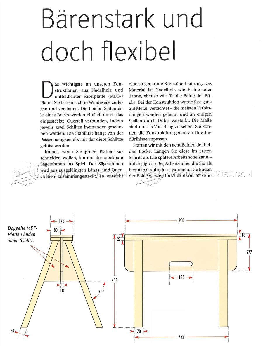 1043 Plywood Cutting Table Plans Circular Saw