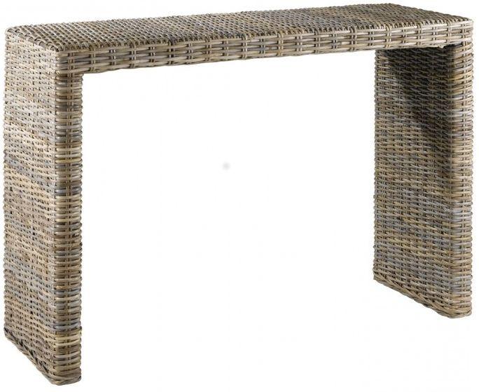 Complétez votre collection Kubu avec cette console 110 cm livré montée chez vous.