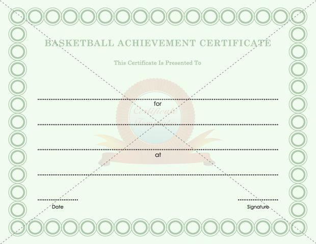 Certificate templates - Free Printable Certificate Templates