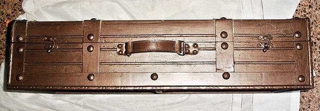 Maleta Baul de madera. BAG - TRUNK