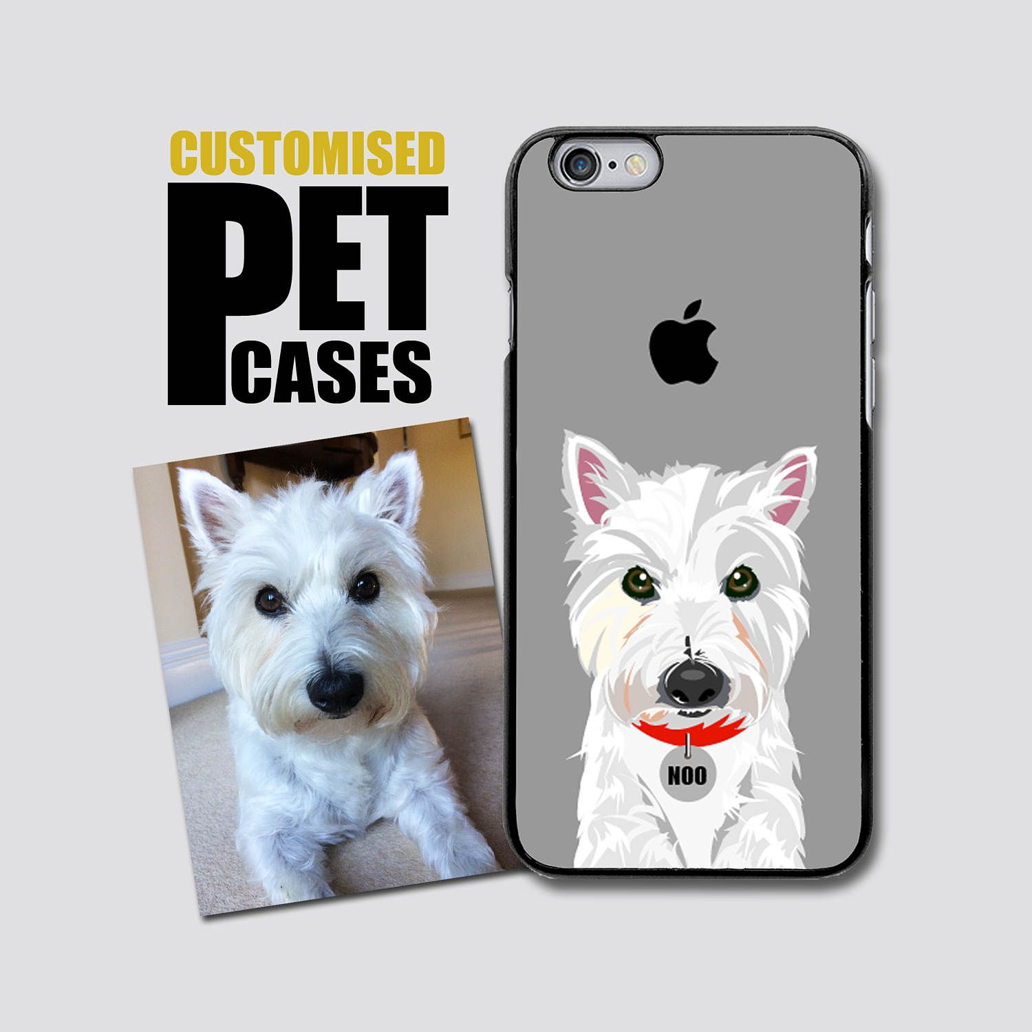 Custom Pet Phone Case - Customised Dog iPhone 5/5S/SE - iPhone 5C - iPhone 6/6S  iPhone 7/7 PLUS - Customized Dog Phone Case by Applepigdesigns on Etsy
