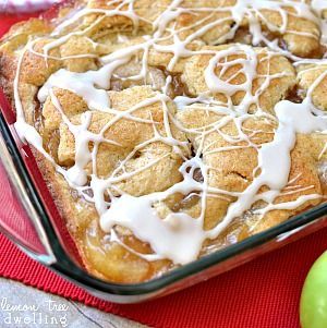 Apple Pie Bars with a sweet vanilla drizzle… SO yummy and perfect for fall! Hello, Friends! It's Cathy from Lemon Tree Dwelling, back to share some fall yumminess with you!!   When I think about fall, the first two flavors that come to mind are [...]