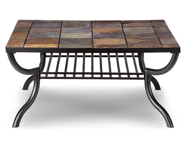 Monarch Square Coffee Table Furniture Row Coffee Table Slate Coffee Table Coffee Table Furniture