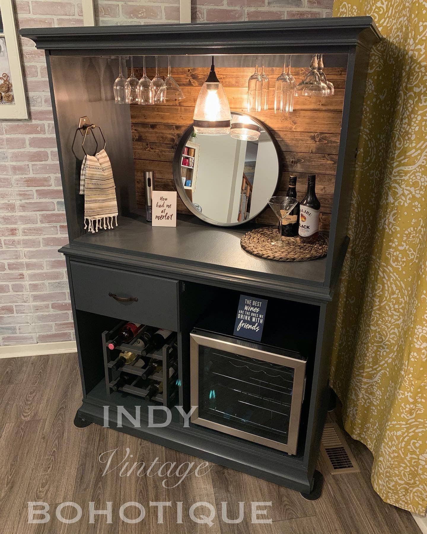 Custom Armoire Wine Liquor Bar Beverage Bar Rustic Bar Etsy In 2020 Coffee Bar Home Bars For Home Rustic Bar
