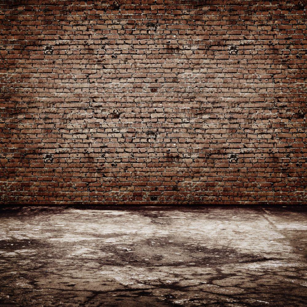 Vinyl for brick wall -  Font B Brick B Font Wall Wooden Floor