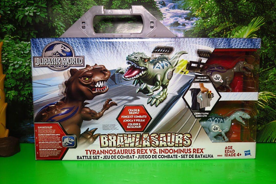 Indominus Tyrannosaurus Vs World Brawlasaurs Battle Rex Jurassic 7bvfygIY6