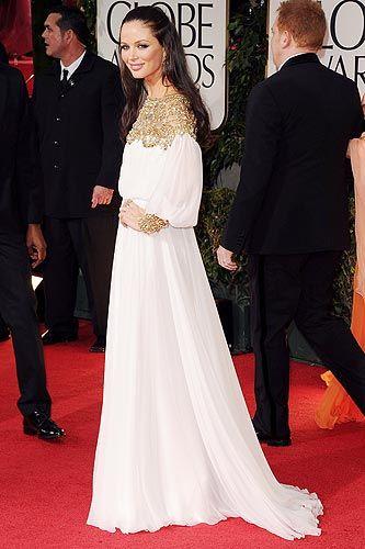 Georgina Chapman by Marchesa - Golden Globe Awards 2012
