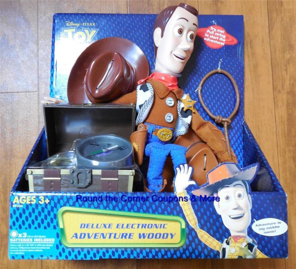 Toy Story And Beyond Deluxe Electronic Adventure Woody
