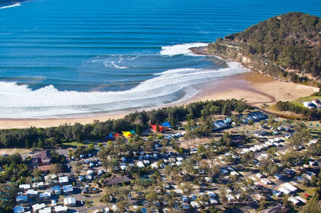 Welcome to Ocean Beach Holiday Park NSW central coast