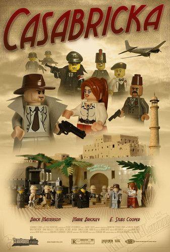 Casabricka:Lego Classic Movie Postr 27x40 inches Gicleé Print