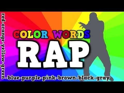 COLOR WORDS RAP (song for kids about spelling color words