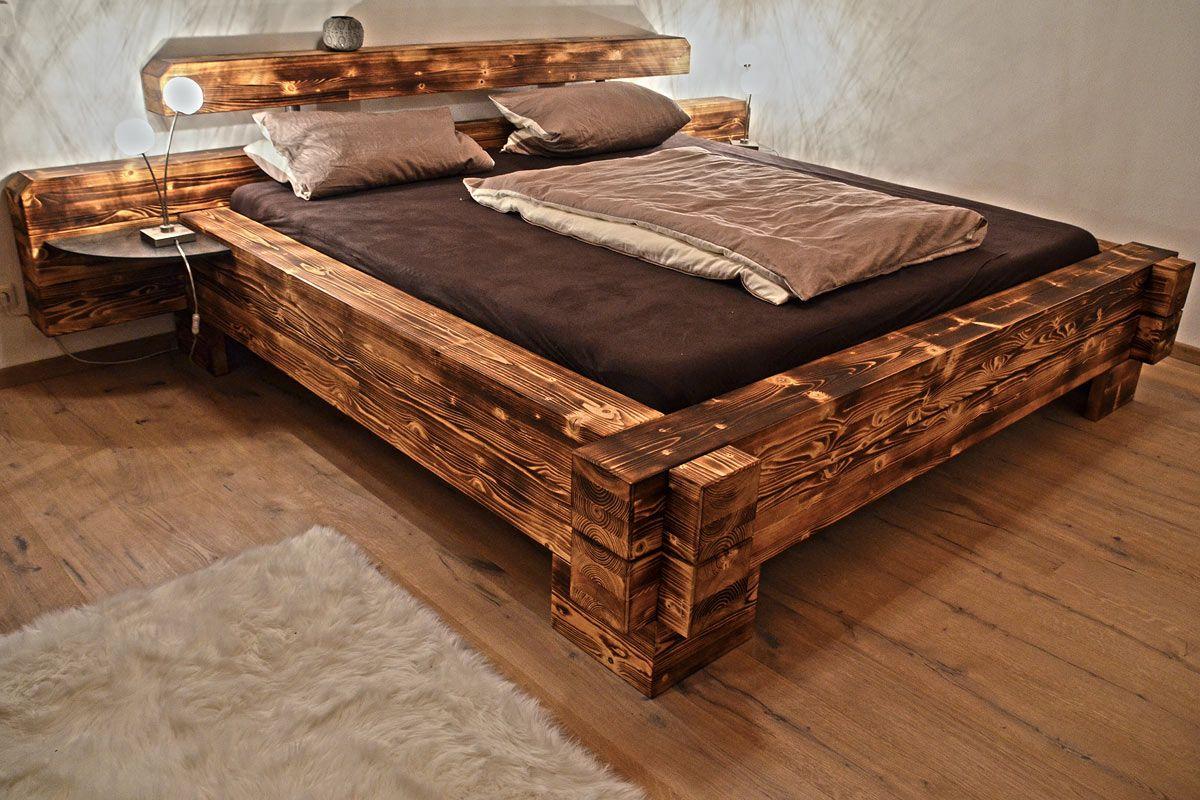 Výsledek obrázku pro balkenbett | Bed frame | Pinterest | Bedrooms ...