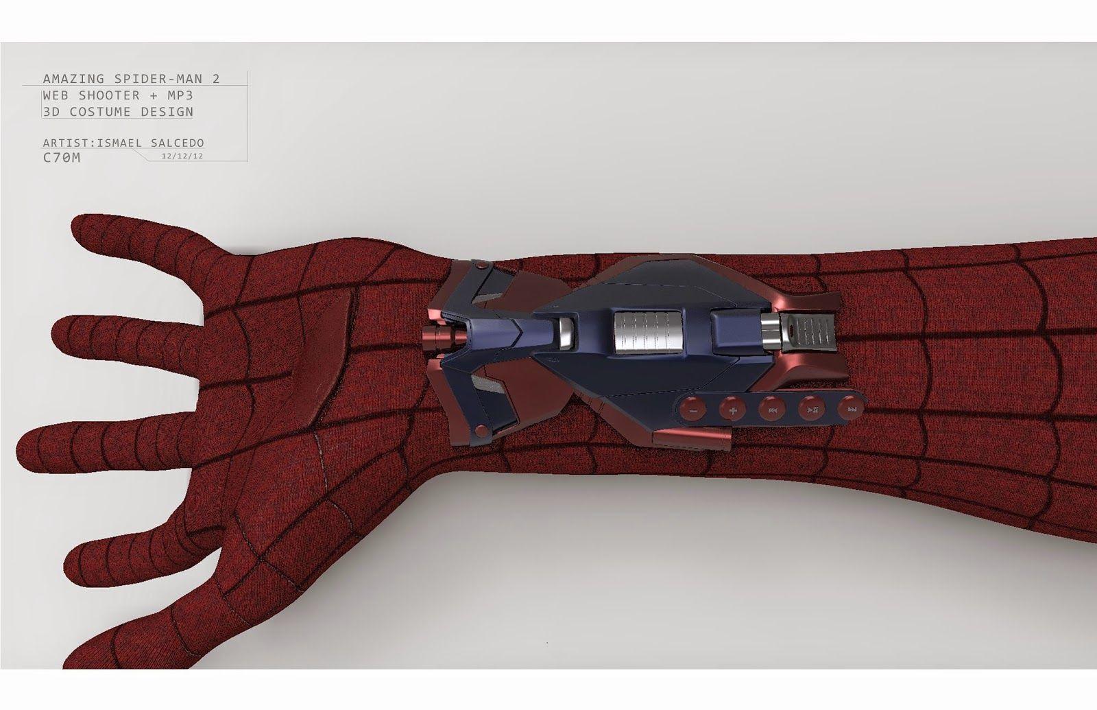 Картинки веб шутеры человека паука