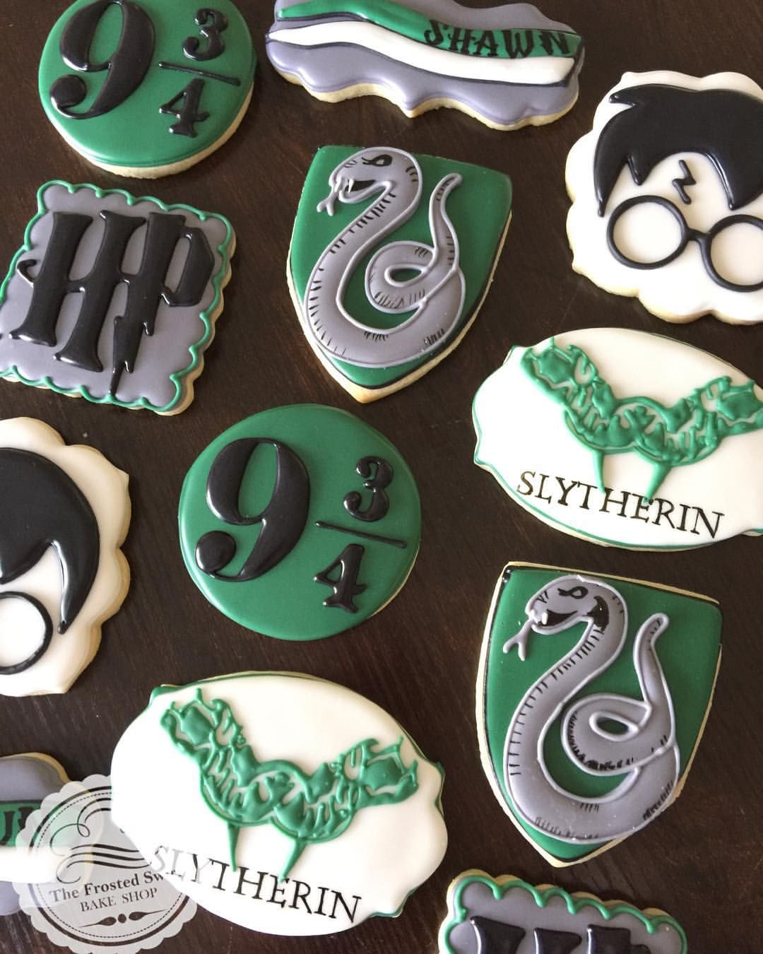 Slytherin! Happy Birthday Shawn! 🐍