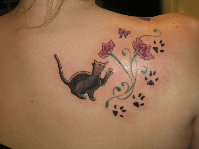 Entdecken Sie Das Originale Katzenpfoten Tattoo In All Seinen Formen
