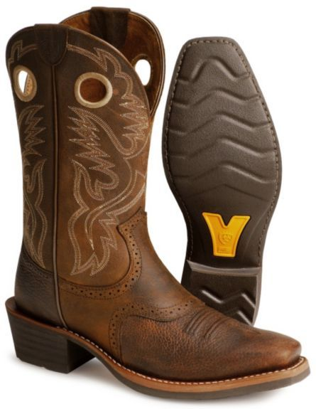 bfb72253262 Ariat Men's Heritage Roughstock Western Boots - Narrow Square Toe in ...