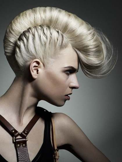 Awesome Mohawk Hairstyles For Girls Fashion Hello Hair It Is Hairstyle Inspiration Daily Dogsangcom