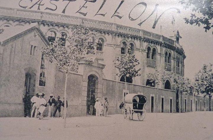 Resultado de imagen de plaza toros castellon foto antigua