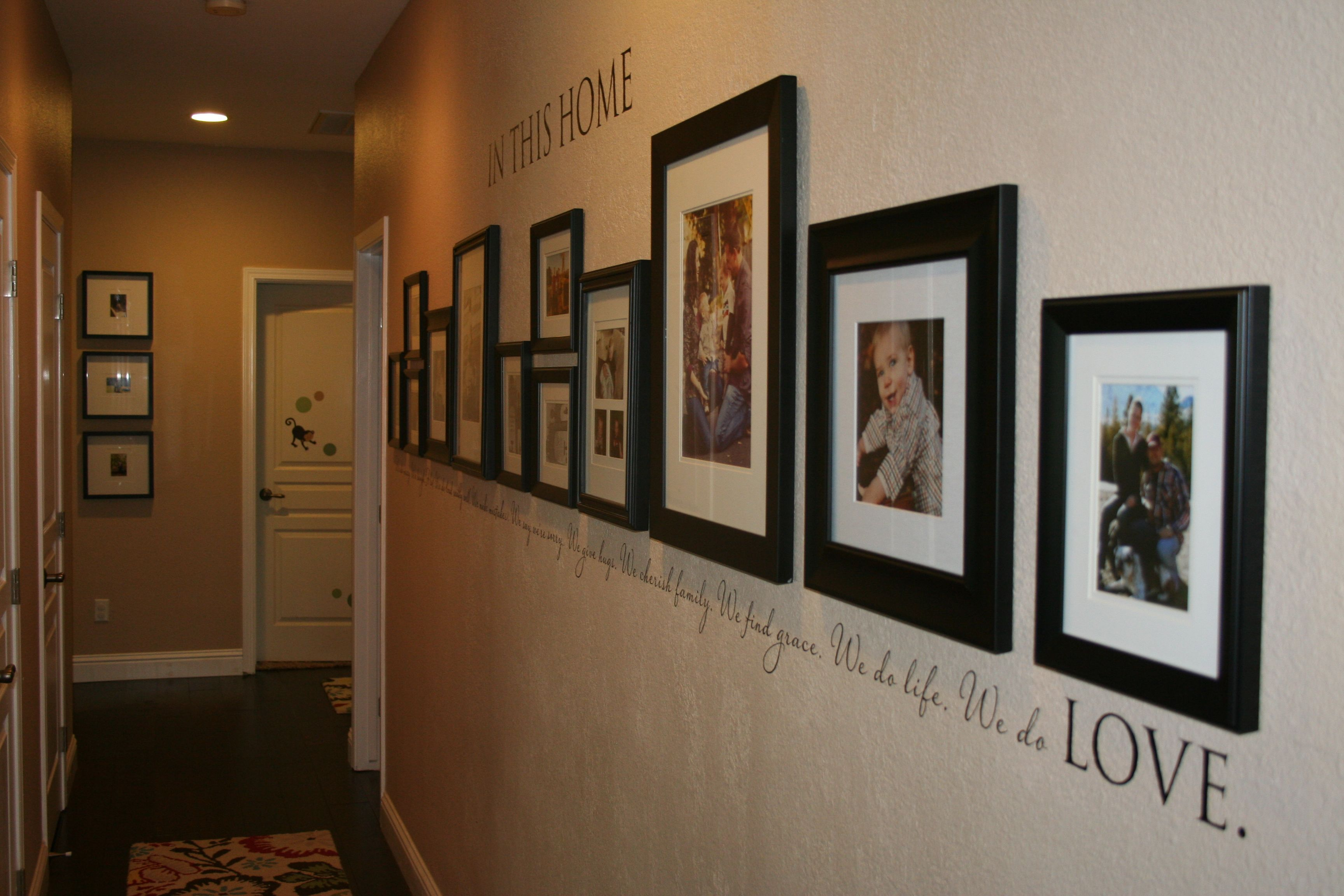 Hallway End. House Love