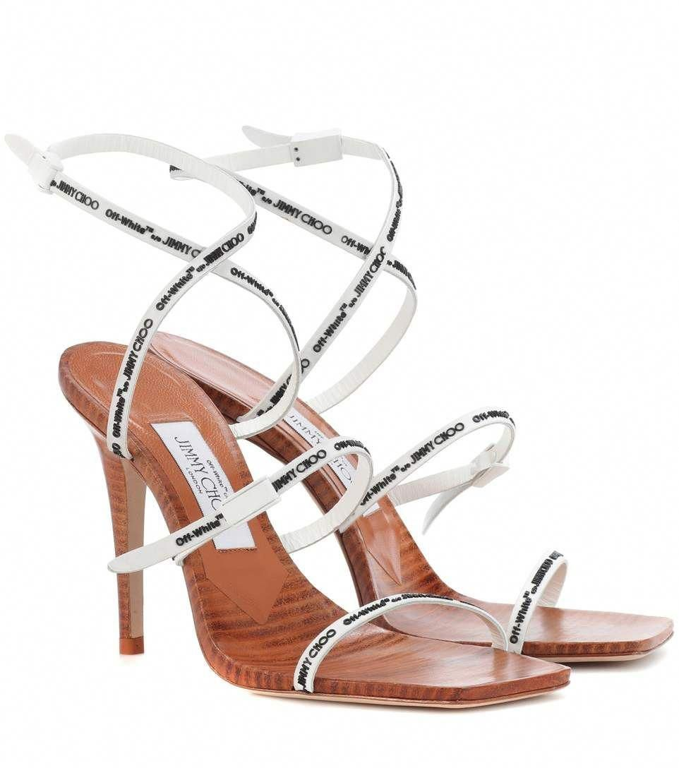 06f5a7b3bb JIMMY CHOO X Off-White Jane 100 sandals. #jimmychoo #shoes # #
