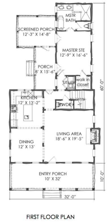 This Is The Tnh Sc 44a House Plan By Moser Design Group This Plan Also Has 1 916 Square Feet With 3 Bedrooms An How To Plan House Plans Narrow Lot House Plans