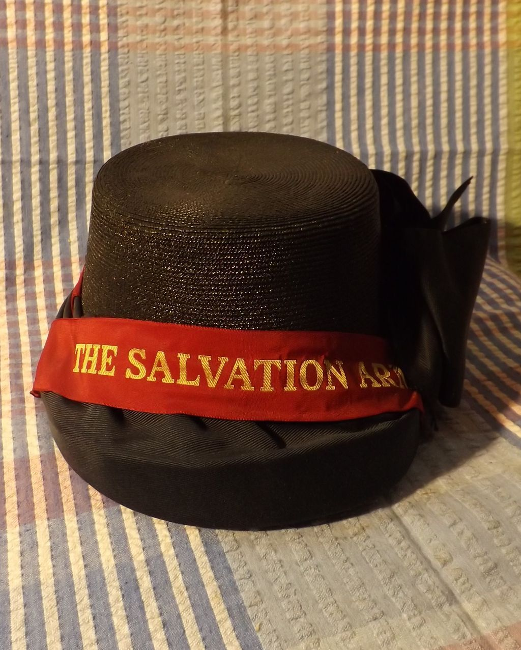 Vintage Salvation Army Ladies Woven Bonnet ef52d8afc50