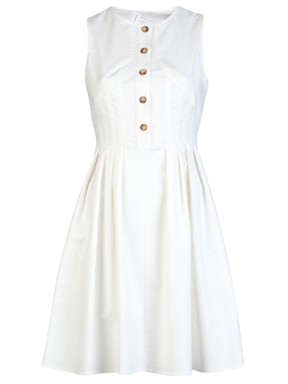 10 Crosby by Derek Lam Fit and Flare Dress