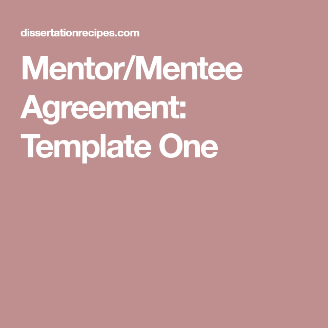 Mentor and mentee agreement the best agreement of 2018 r to program catie canada s source for hiv and platinumwayz