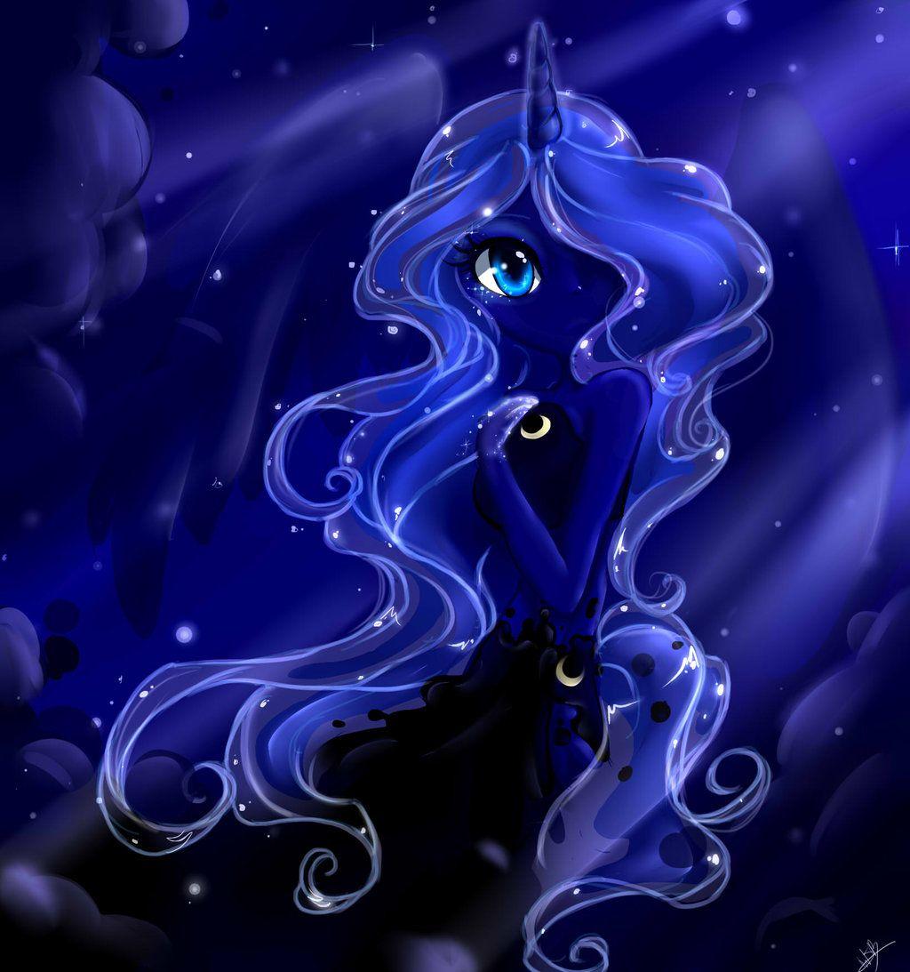 Mlp Wallpapers: Human Princess Luna Fanart - Google Search