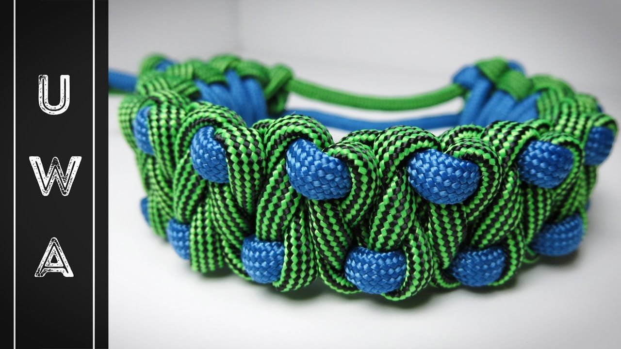 Vid Tutorial Rocky Road Paracord Bracelet From Uniformwarrior On