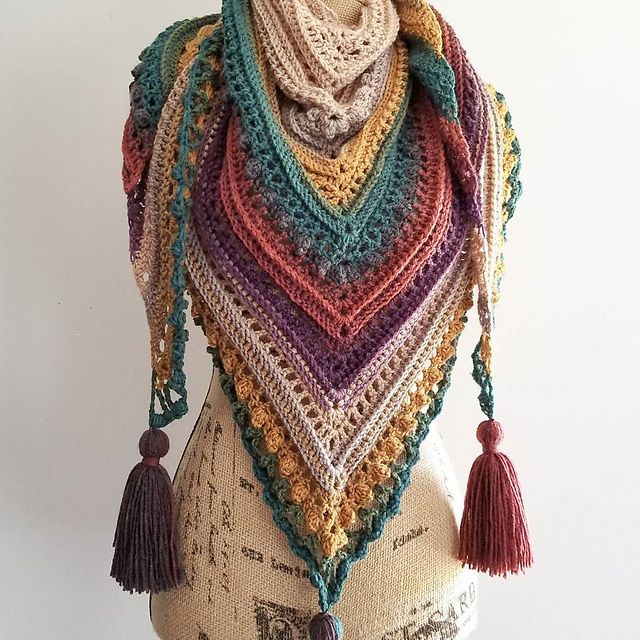 Secret Paths Pattern By Johanna Lindahl Put Your Sticks In The Air Custom Mandala Yarn Patterns