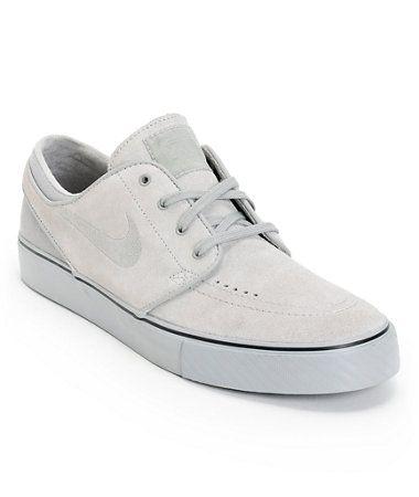 half off 85331 53aa2 Nike SB Zoom Stefan Janoski Medium Grey, Medium Grey,   Medium Grey Skate  Shoe at Zumiez   PDP