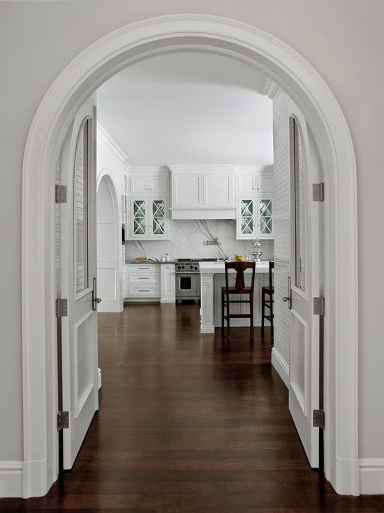 Stylish Kitchen Design In Various Models Excellent Arch Entrance