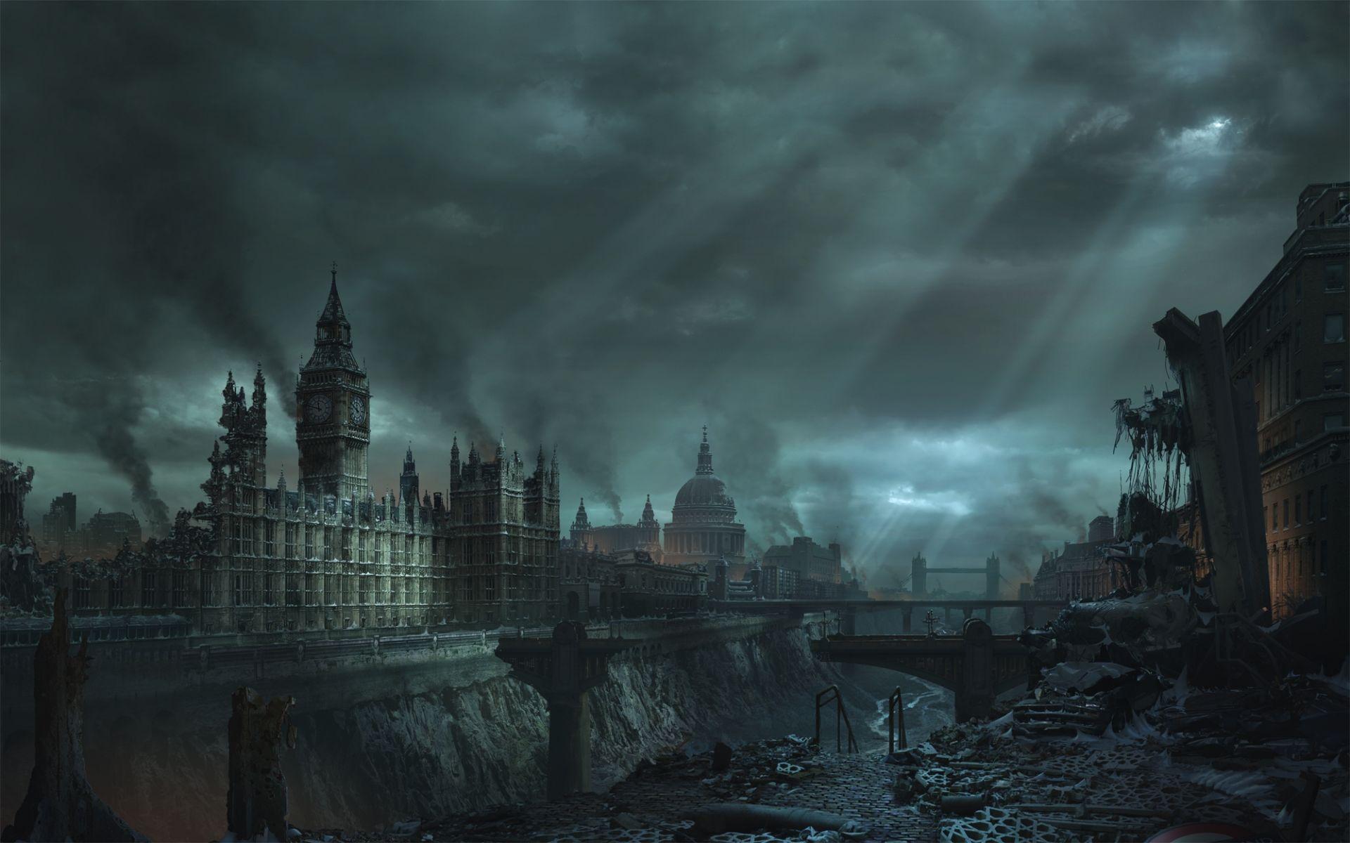 increibles imagenes postapocalipticas post apocalypse