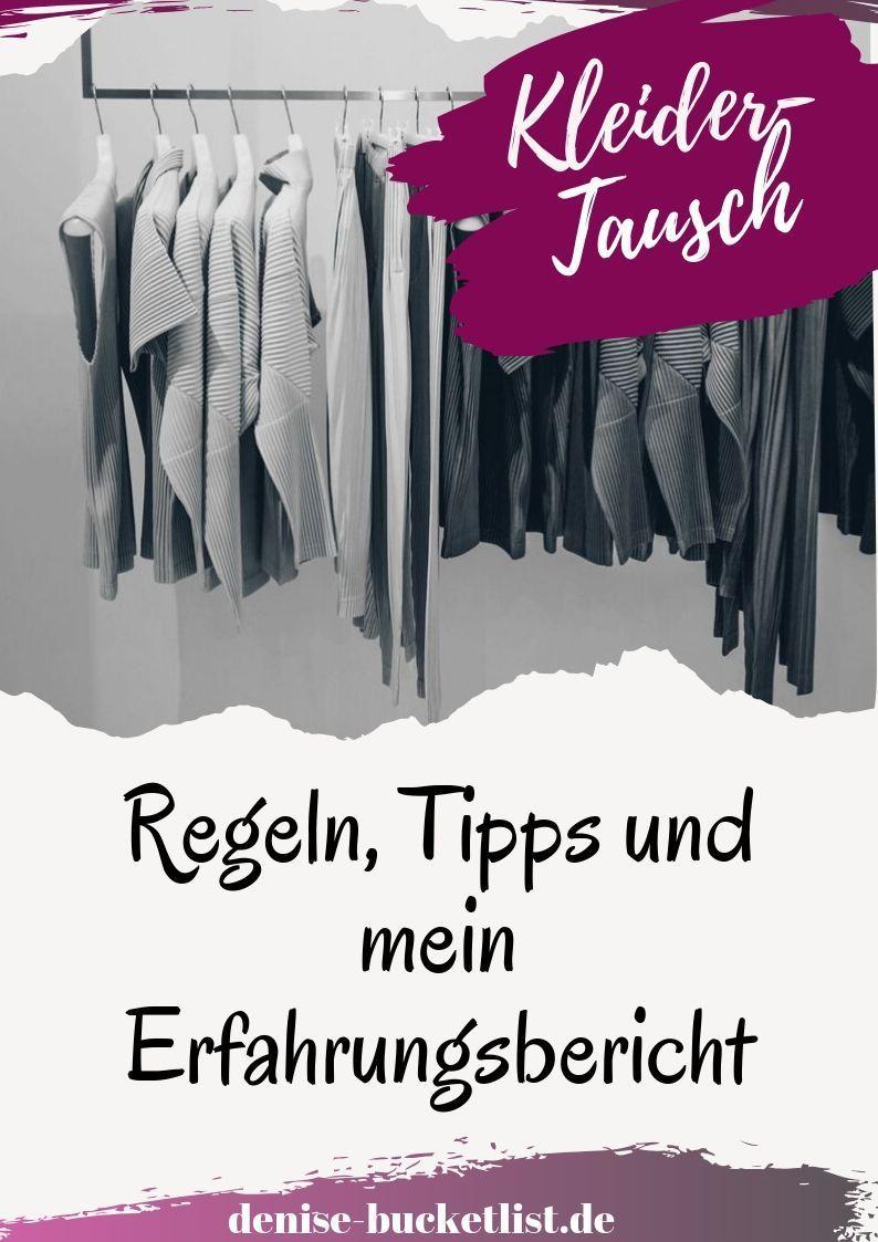 Kleidertauschparty organisieren: Meine Erfahrungen, Regeln ...