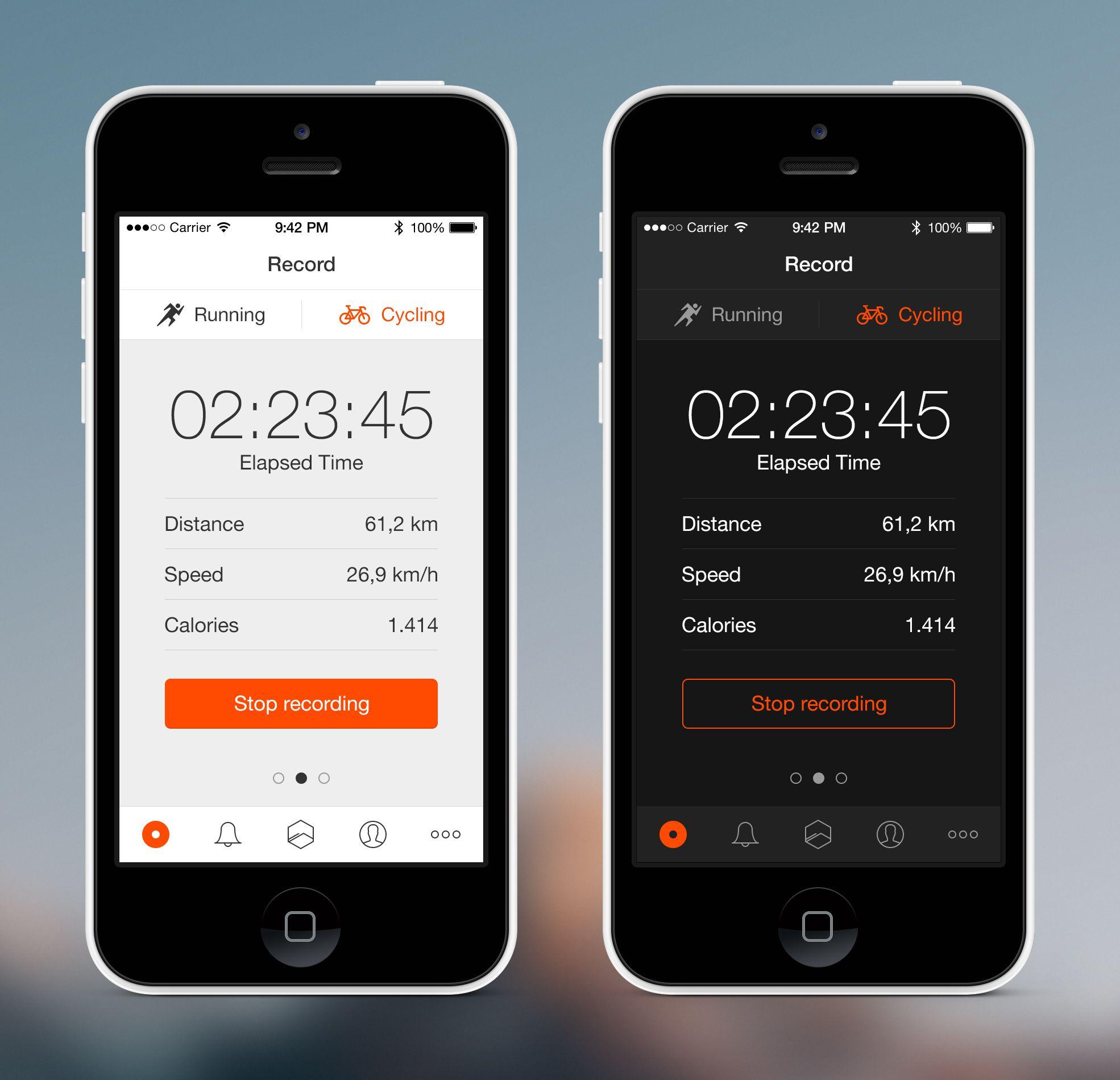 Dribbble social app ui design jpg by ramotion - Mobile Ui Design
