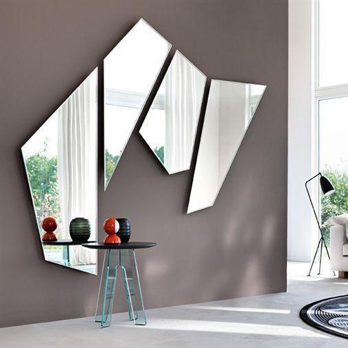Redoutable miroir mural salon