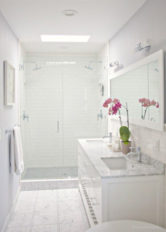 captivating what color paint grey tiles bathroom | The 6 Best Paint Colors to Coordinate With Marble | White ...