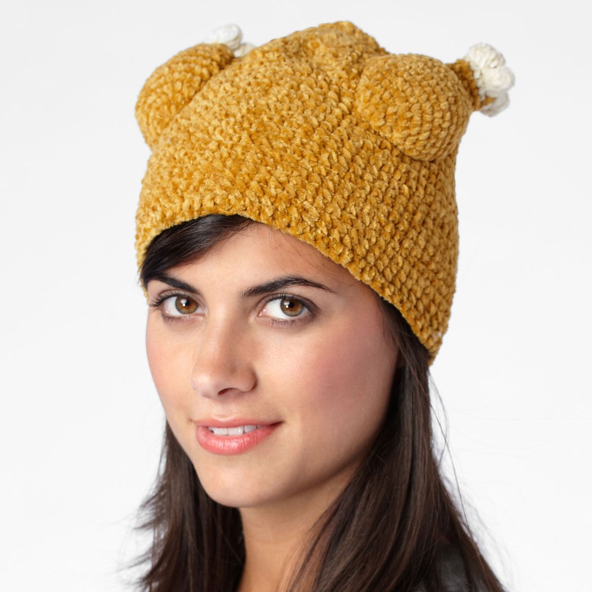 7d94c66b886 Knit cap that looks just like an oven-roasted turkey