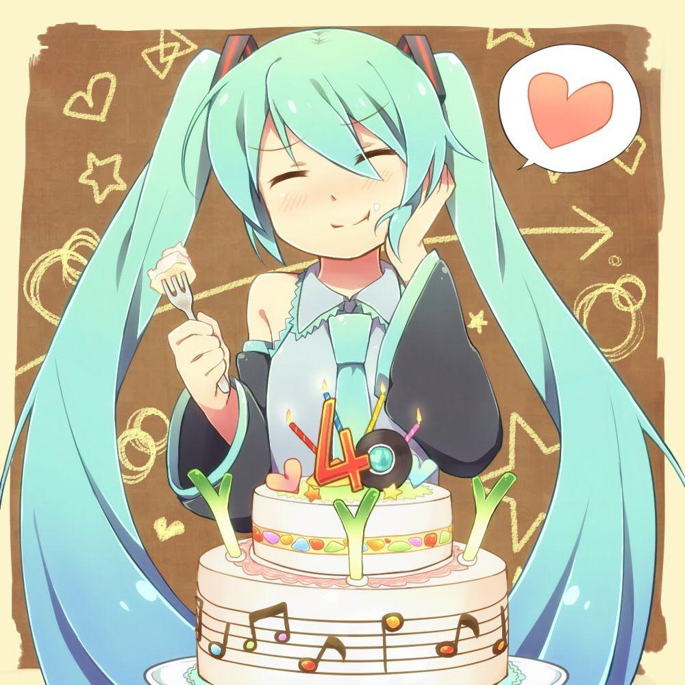 Pin auf Anime happy birthday