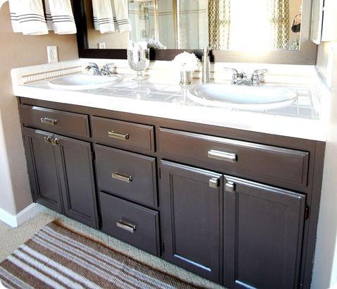 Bathroom Q A Giveaway Bathroom Makeover Bathroom Cabinet Makeover Painting Bathroom Cabinets