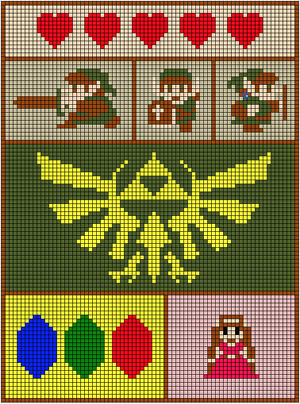 Legend Of Zelda Knitting Pattern : Zelda blanket bit images design crochet and knits