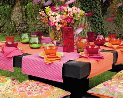 dressage de table d co de table indienne table des eaux jours pinterest deco de table. Black Bedroom Furniture Sets. Home Design Ideas