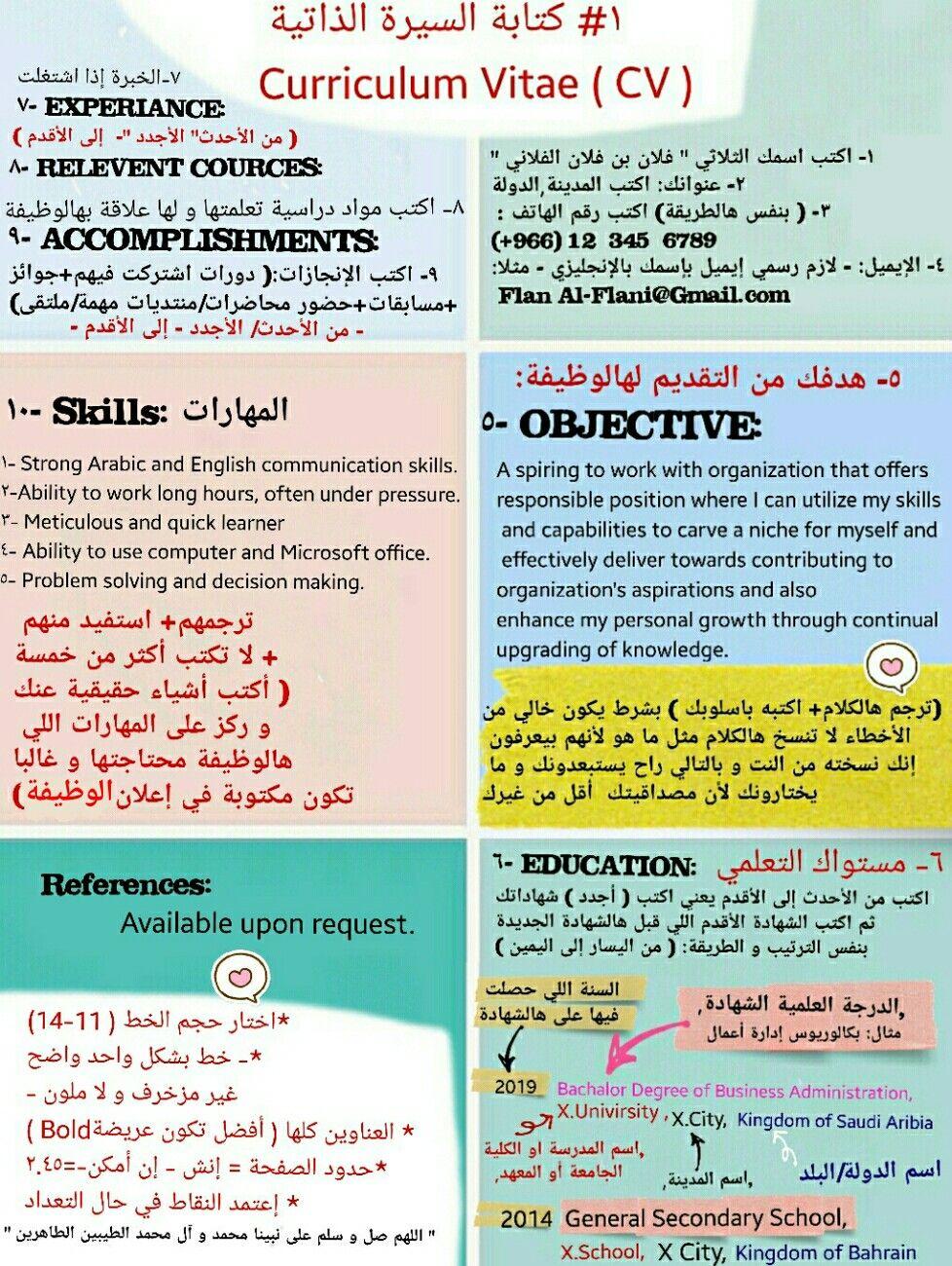 ١ كتابة السيرة الذاتية سيرة ذاتية طريقة Cv Cv Curriculum Vitae Curriculum Vitae Curriculum Vitae Curriculum Things To Know