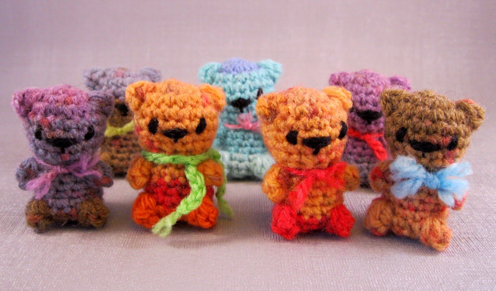 Yeay! A new pattern from Lucy Ravenscar for tiny toys crocheted in ...