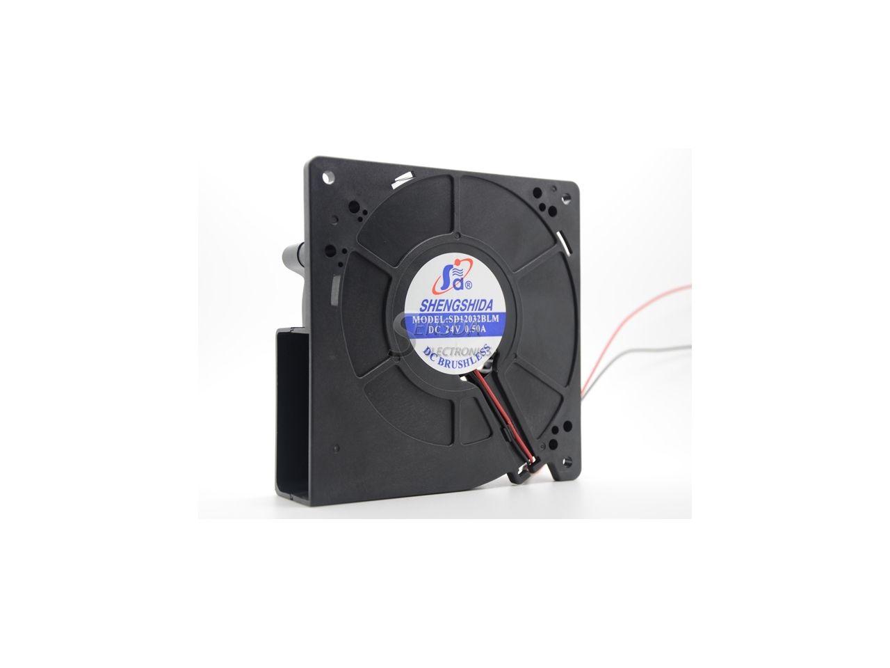 12032 12cm 120mm 24V 0.50A SENSDA SD12032BLM 12CM Centrifuge blower Ffan case cooler 2-pin cooling fan - Newegg.com