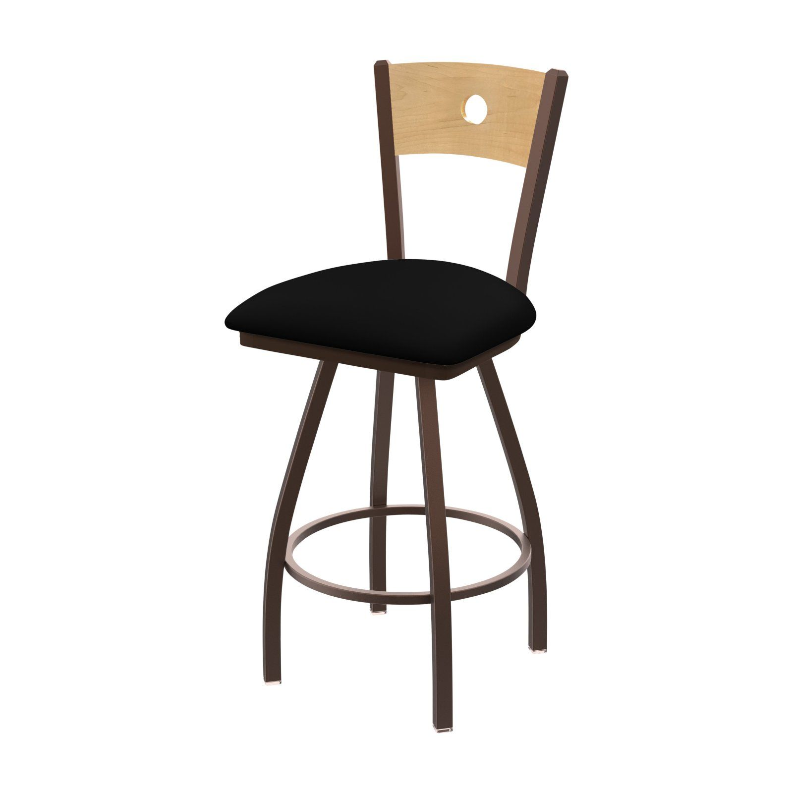 Holland Bar Stool Co Xl 830 Voltaire 36 In Faux Leather Swivel